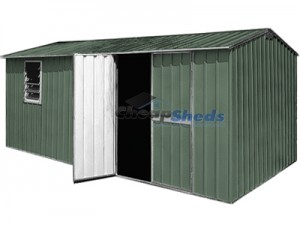 Double Hinged Door Shed