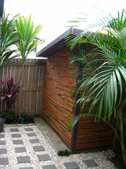 Recyced Timber Garden Shed