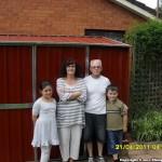 Tim & Barbara Stephens – Backyard Shed – Durabuilt EasySHED 0305 E/C 3.00m x 2.25m x 2.05m Double Door Heritage Red