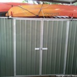 Daphne P – Adventure Shed – Absco Spacesaver 30152SK 3m x 1.52m x 2.08m Pale Eucalypt