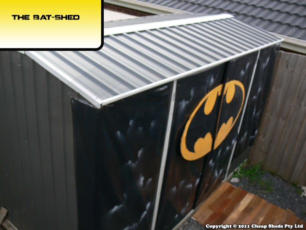 The Bat Cave - The Bat Shed