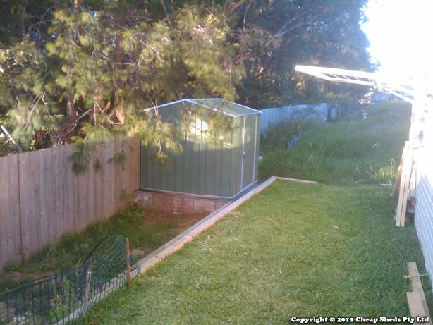 Spanbilt YardSaver - Backyard shed