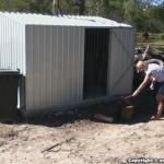 Trevor & Jenny Ehrich – Backyard Shed – Absco Premier ZA30301GK 3m x 3m Zincalume