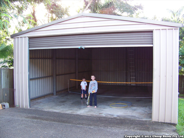 Tennis Shed - Highlander Garage [Customer Review]