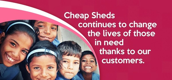 Giving After Every Shed – To People In Need