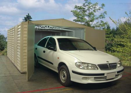 Garage 10x15 - Fits All Standard Cars