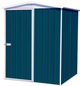 Regent Gable Roof 1.52m x 1.44m Single Door Deep Ocean Shed