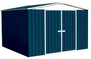 Regent Gable Roof 3m x 2.18m Double Door Deep Ocean Shed
