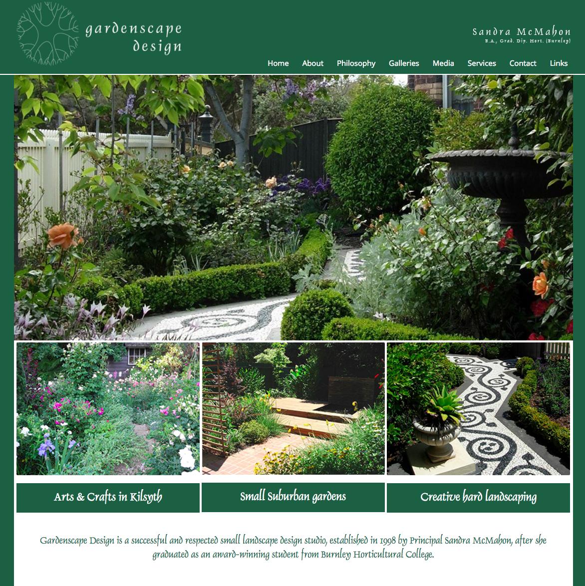 Landscape design melbourne sandra mcmahon gardenscape for Landscape garden design melbourne