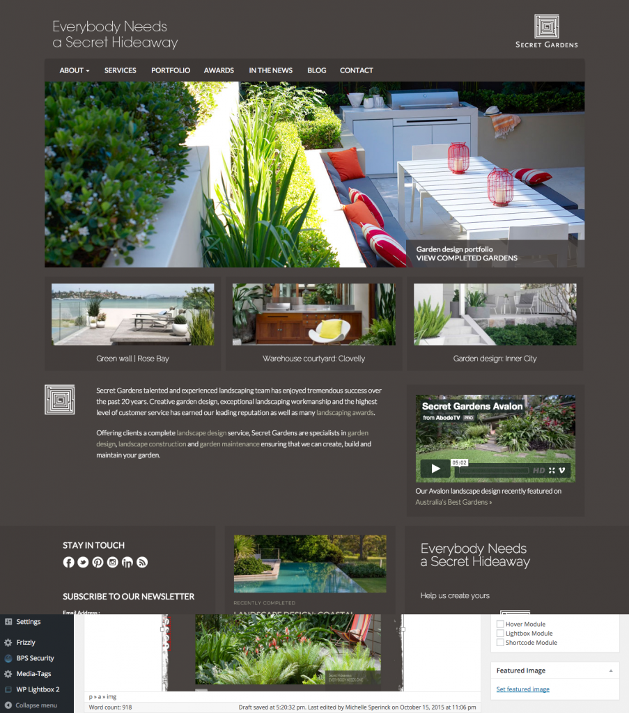 best landscaping company websites landscape ideas