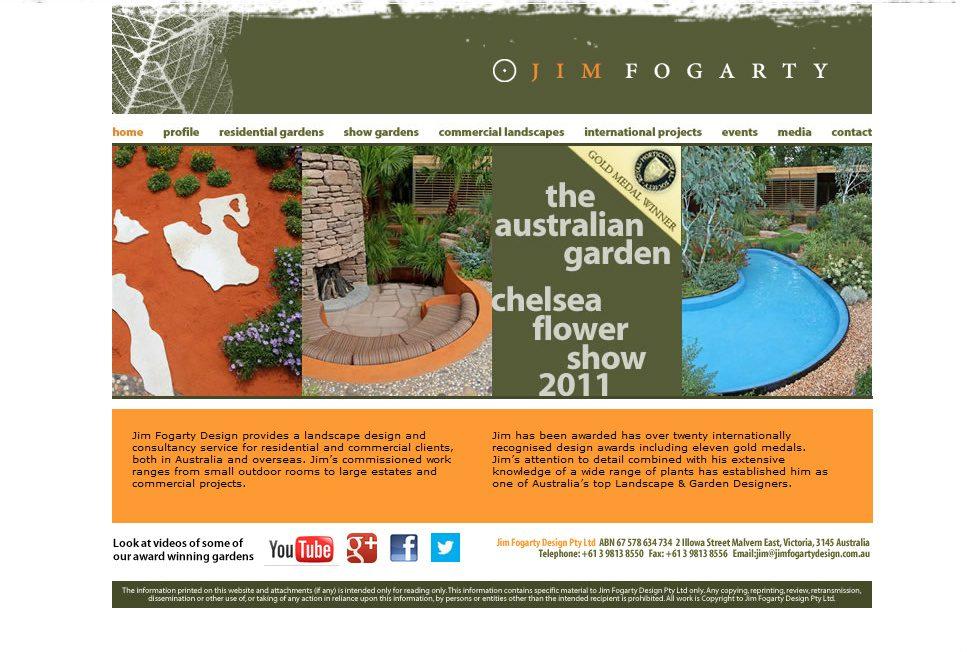 Jim Fogarty Landscape Design