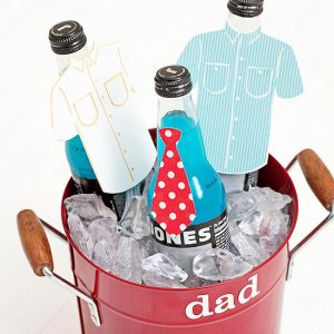 Custom Drink Bucket for Dad