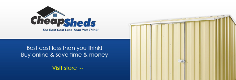 Cheap Sheds Banner