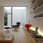 Neutral-living-area-low-level-storage-bench-at-Minimalist-Room-Decorating-Ideas-by-Rafael-Reis