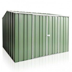 YardSaver G88 Gable Roof 2.8m x 2.8m Double Door Colour Shed - Spanbilt