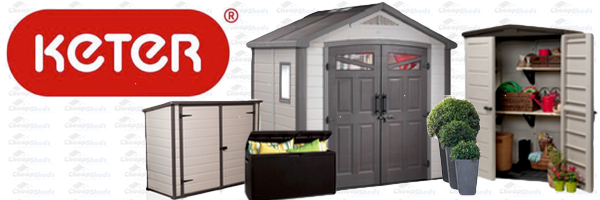Keter Resin Storage Solutions at Cheap Sheds