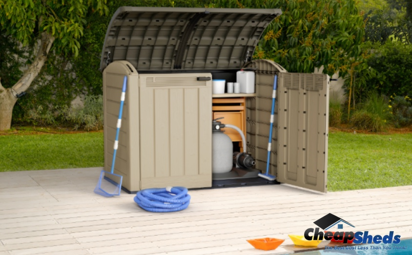 Keter Resin Storage - Pool Shed