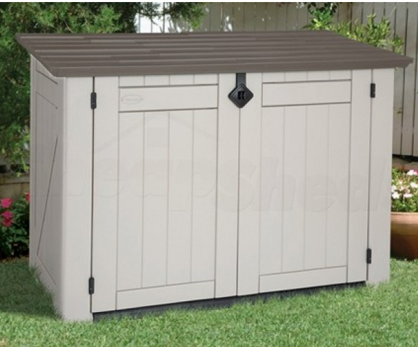 Suncast resin garden sheds for Resin garden shed
