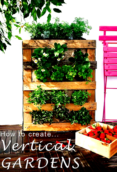 Creating a vertical garden how to create a vertical for Cheap vertical garden