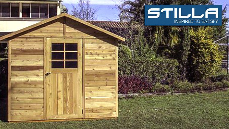 Stilla cedar garden sheds
