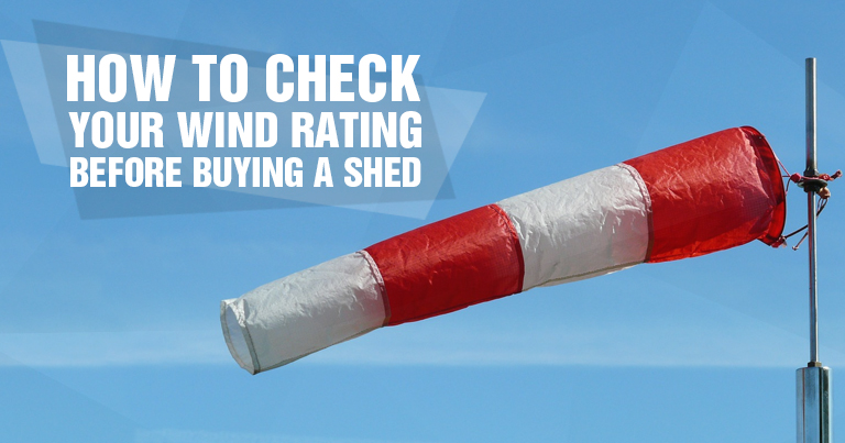 Shed Wind Rating
