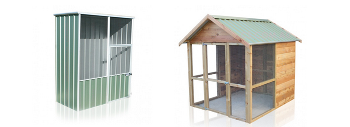 Can You Use Your Aviary As A Chicken Coop?