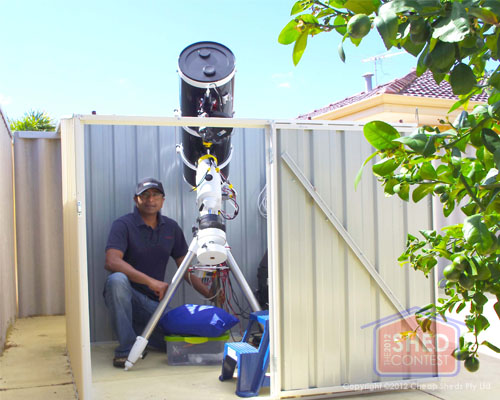 Your Backyard Observatory Bringing The Stars To You