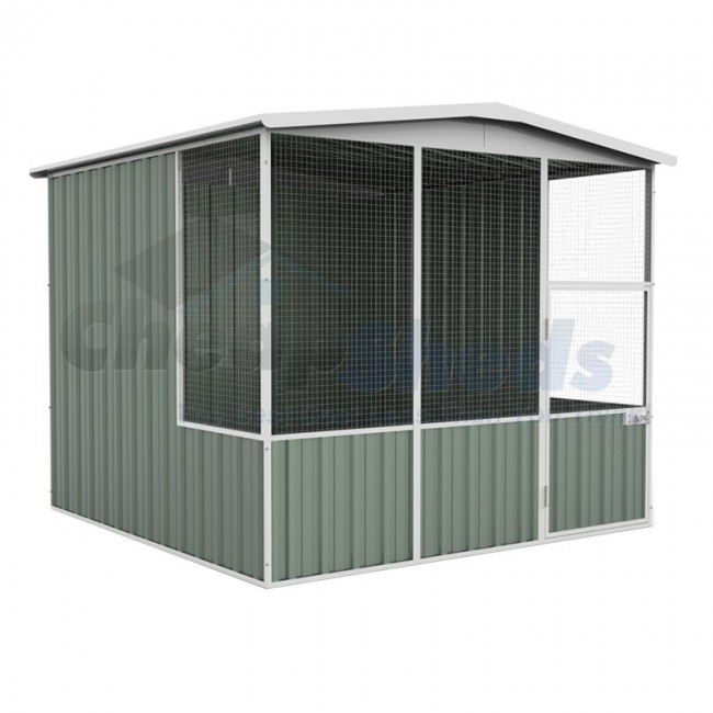 Cat Run - large aviary