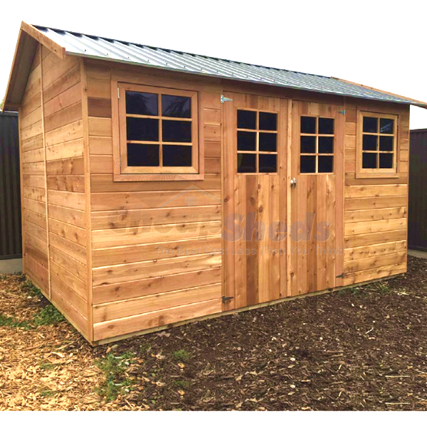 Stilla Willow Timber Shed Assembly