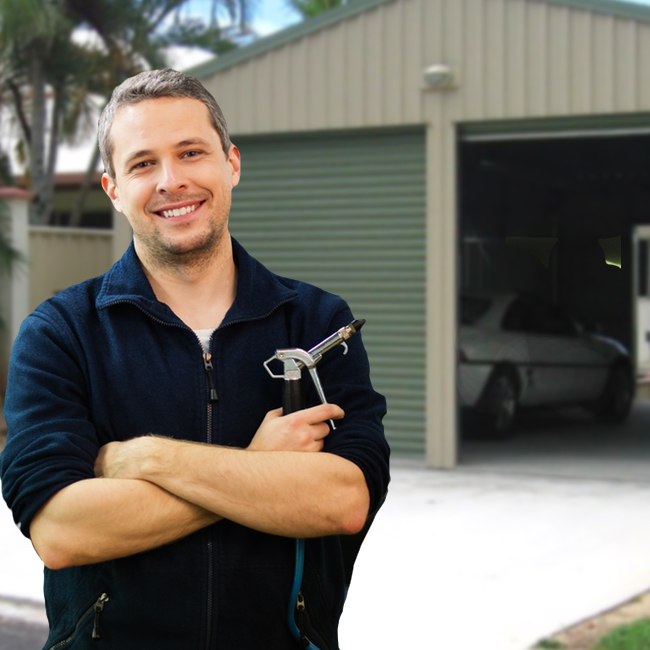 different types of garages - car