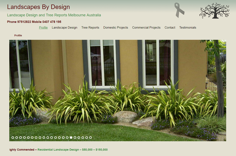 Landscape designers - Landscapes by Design