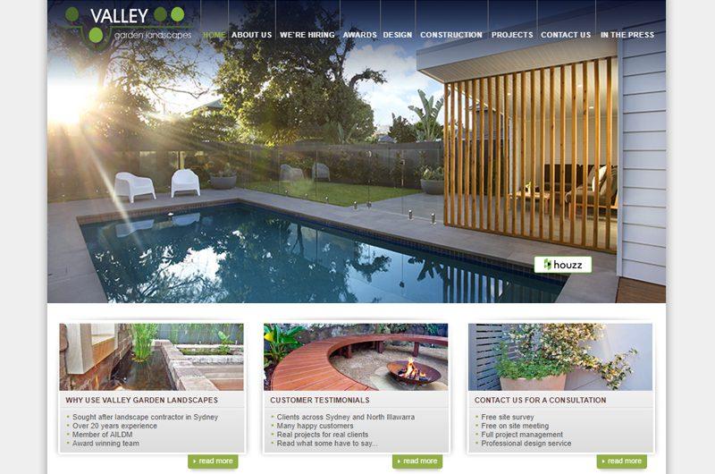 Landscape designers - Valley Garden Landscapes
