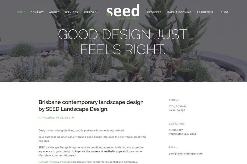 Landscape designers - SEED Landscape Design