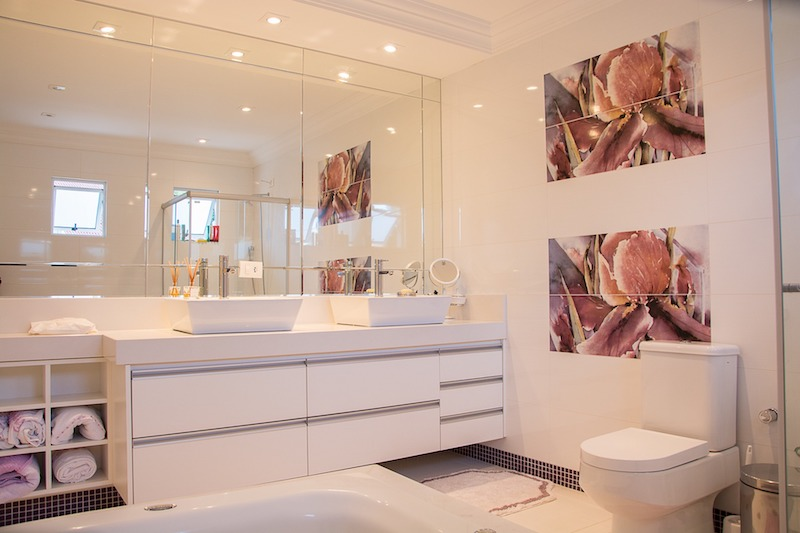 Update Your Bathroom - less is more