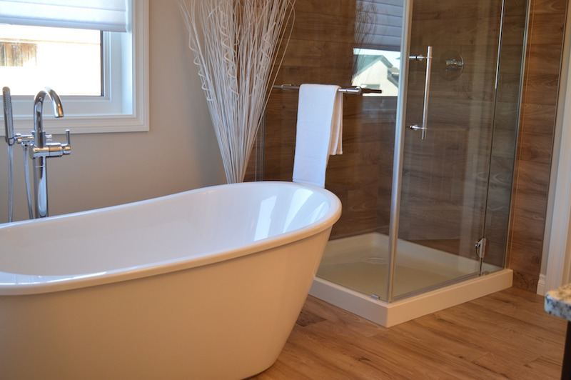 Update Your Bathroom - elegant bathtub