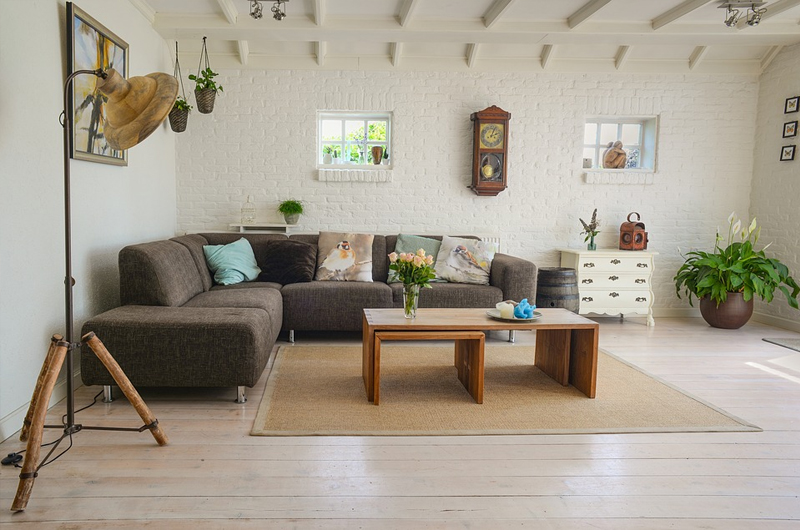 Transitional Home - lounge