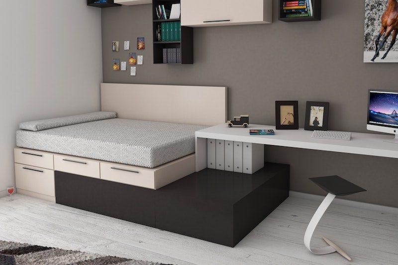 bedroom storage - hidden storage ideas