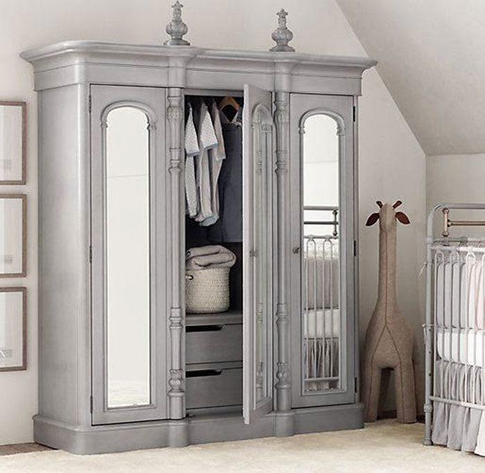 bedroom storage - free standing wardrobe