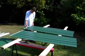 DIY Garden Shed: Door Panel Assembly
