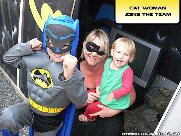 The Bat Cave - The Bat Shed