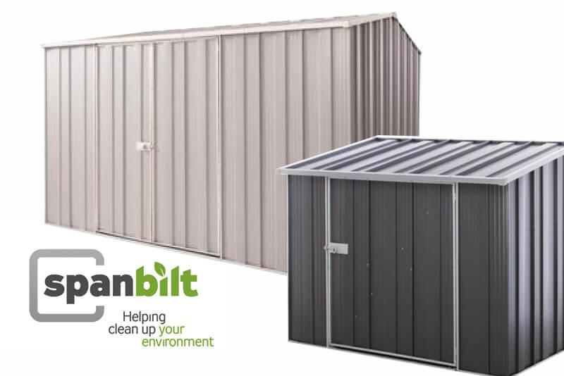 Spanbilt's More Innovative YardSaver Sheds