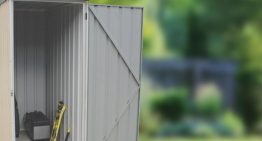 Absco Ezislim Is The Newest Slim Storage Shed On The Market