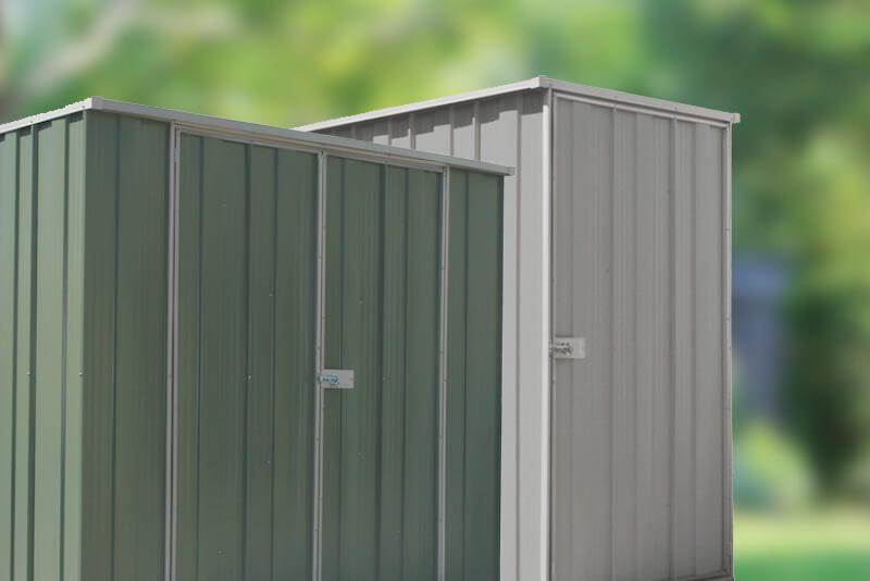 2 New Cheap Sheds Branded Slimline Storage Sheds