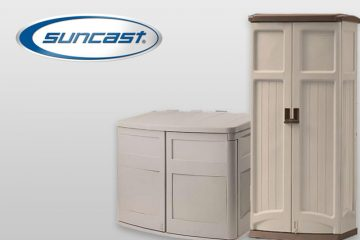 Suncast Resin Garden Sheds & Storage Boxes At Cheap Sheds