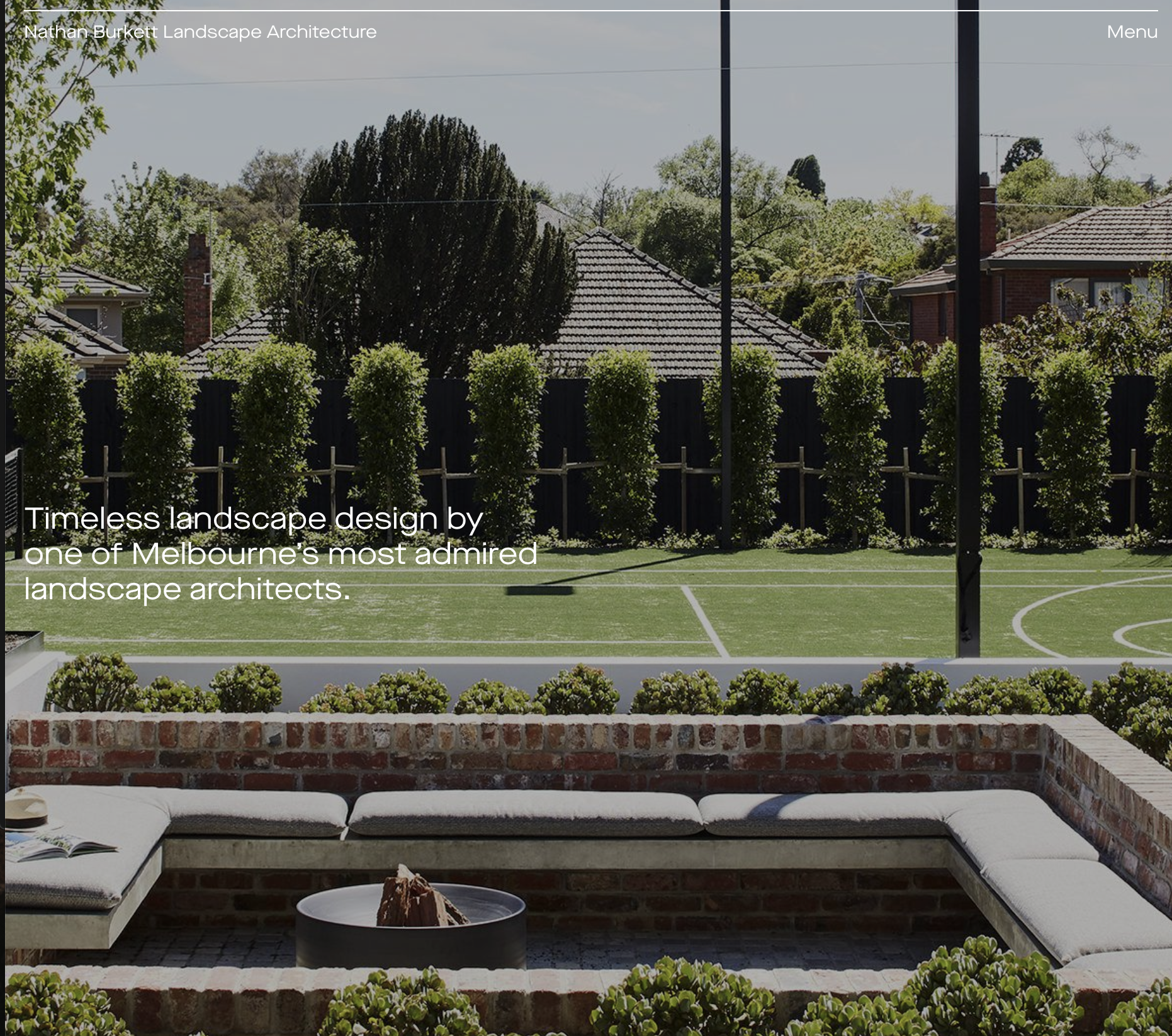 Landscape designers -  Nathan Burkett Landscape Architecture