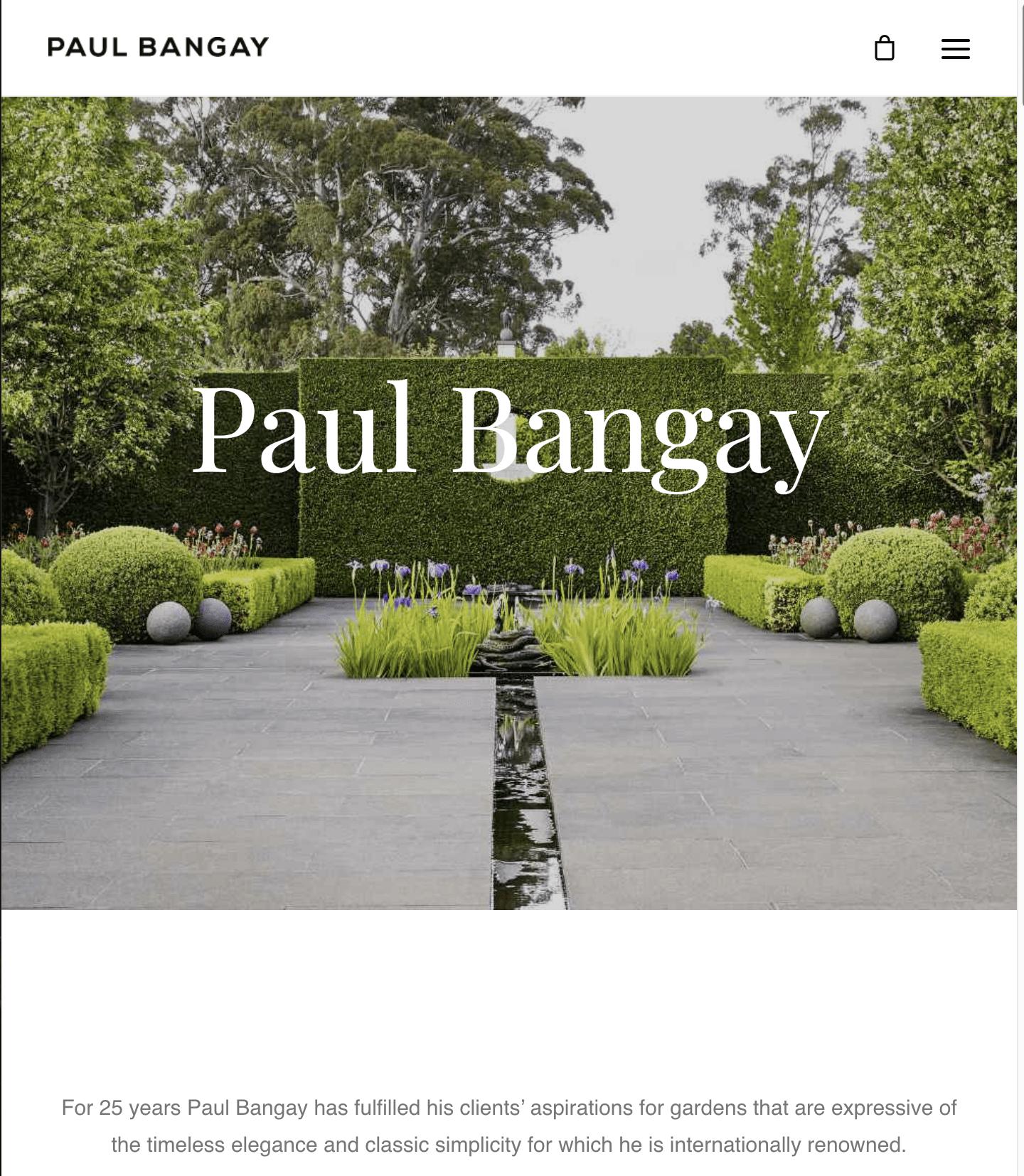 Landscape designers - Paul Bangay Landscaping