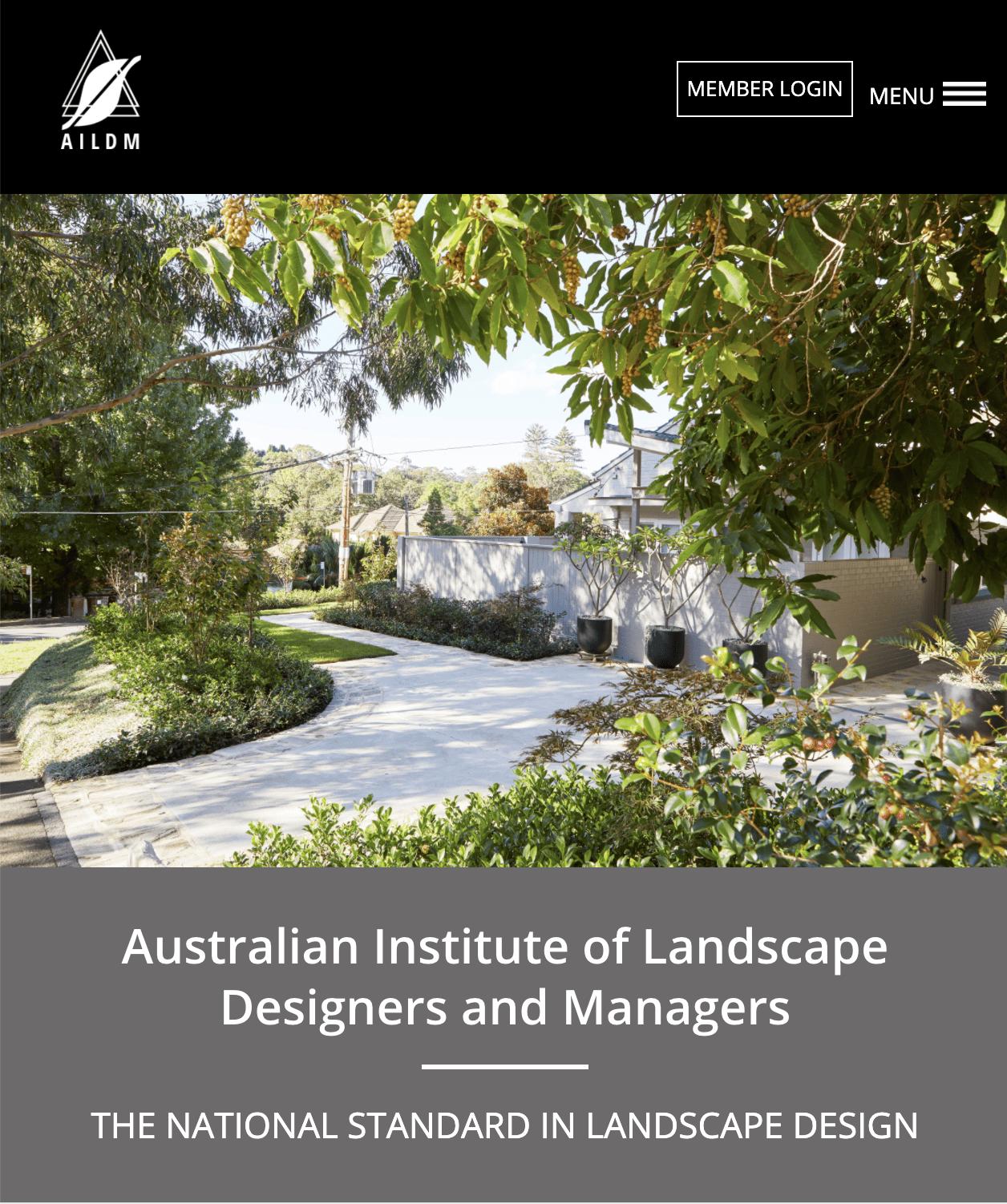 Landscape designers - Australian Institute of Landscape Designers & Managers landscaping