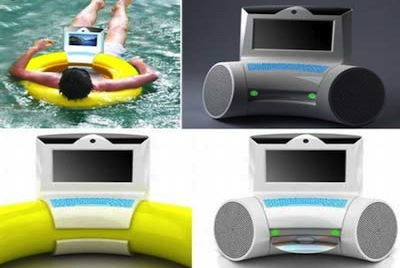 backyard invention - floating computer