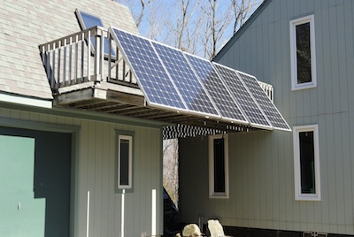 backyard invention - Photovoltaic Solar Panel
