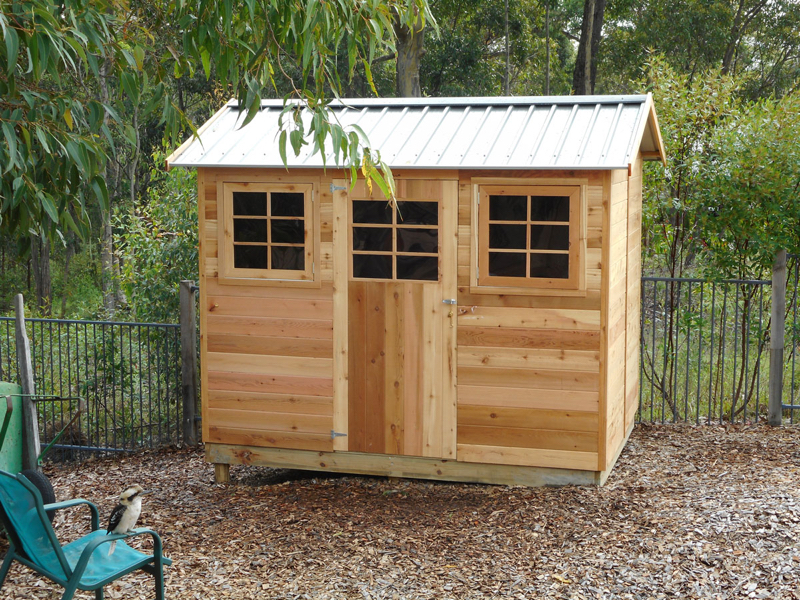 Cedar Garden Sheds - customer picture